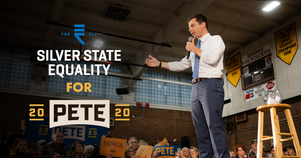 Silver State Equality Endorses Mayor Pete!